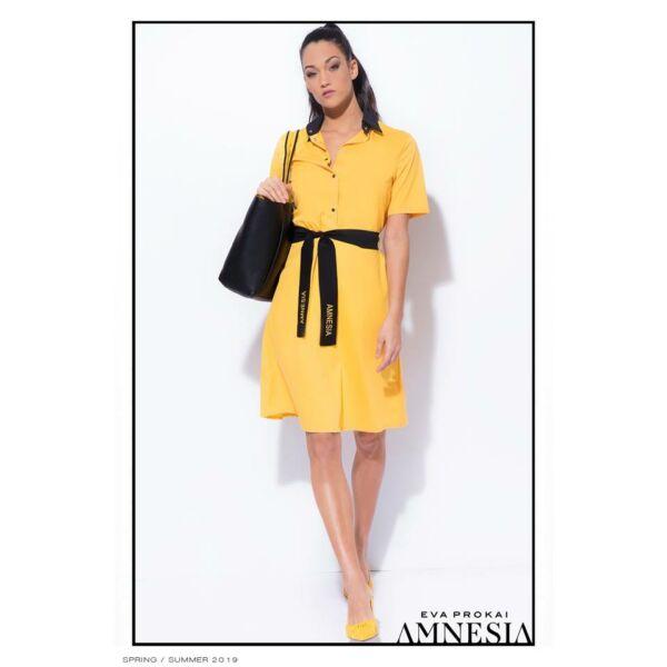 57e6e727eb AMNESIA BELLA RUHA SÁRGA - AMNESIA - MYMISSFASHION - Divat - Amnesia ...